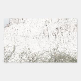Pastel Sketch of Hill in Tucson Sticker