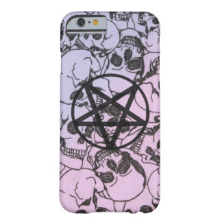 Pastel Skulls and Pentagram: Phone/Device Cover