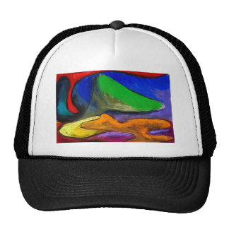 Pastel Soothers (abstract expressionism) Hat