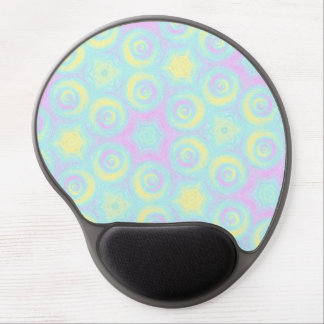 Pastel Spirals Gel Mouse Pad