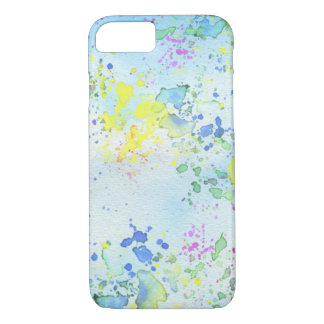 Pastel Splatter Paint iPhone 7 Case