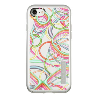 Pastel Squiggles Fractal Incipio DualPro Shine iPhone 8/7 Case