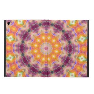 Pastel Star Mandala Cover For iPad Air