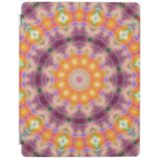 Pastel Star Mandala iPad Cover