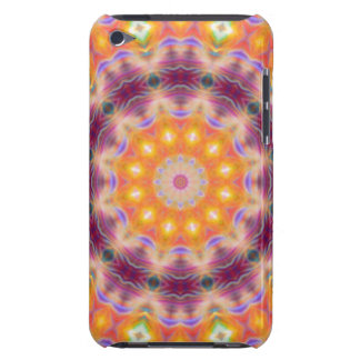 Pastel Star Mandala iPod Touch Cases