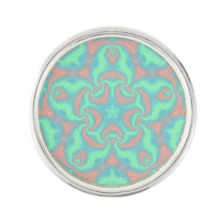 Pastel Star Mandala Lapel Pin