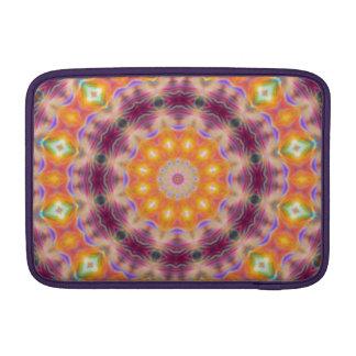 Pastel Star Mandala MacBook Sleeve