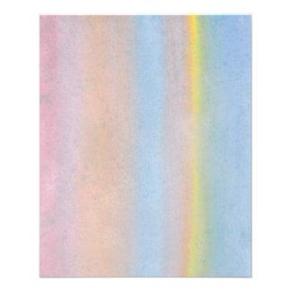 Pastel Stripes. 11.5 Cm X 14 Cm Flyer