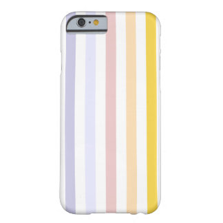 Pastel Stripes Barely There iPhone 6 Case