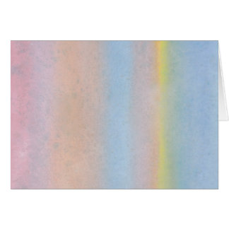Pastel Stripes. Card