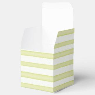 Pastel stripes favour box