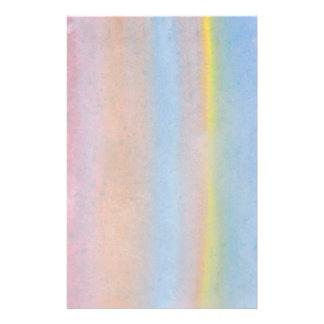 Pastel Stripes. Full Color Flyer