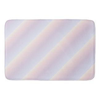 Pastel Stripes Pattern Bath Mats