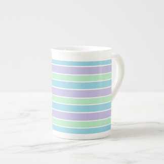 Pastel Stripes Tea Cup
