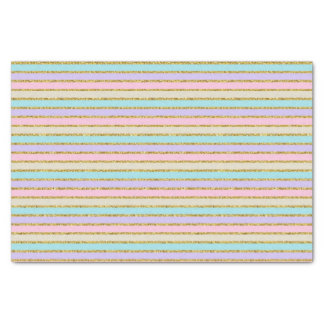 Pastel Stripes Tissue Paper