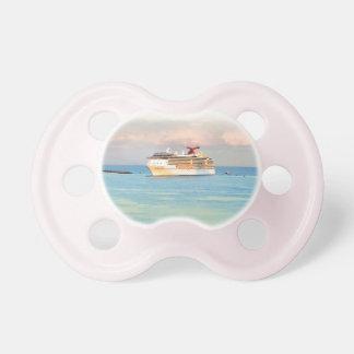 Pastel Sunrise with Cruise Ship Dummy