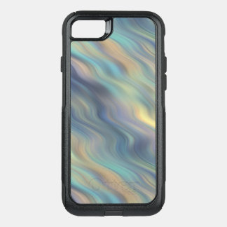 Pastel Swirling Currents Abstract OtterBox Commuter iPhone 8/7 Case