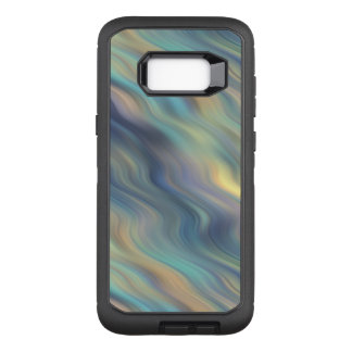 Pastel Swirling Currents Abstract OtterBox Defender Samsung Galaxy S8+ Case