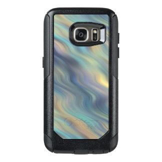 Pastel Swirling Currents Abstract OtterBox Samsung Galaxy S7 Case