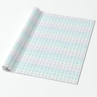 Pastel Taurus Wrapping Paper