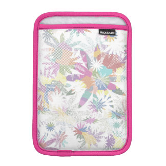 Pastel Textile Whimsical Floral Art iPad Case