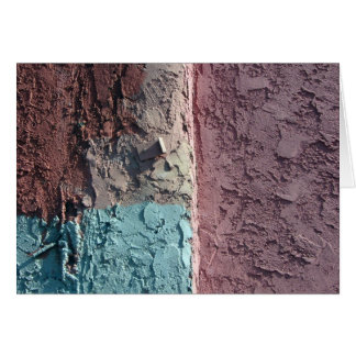 pastel texture greeting card