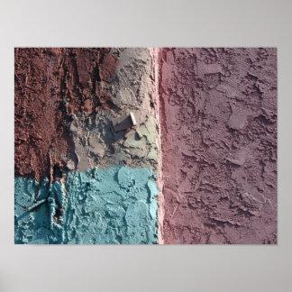 pastel textures poster