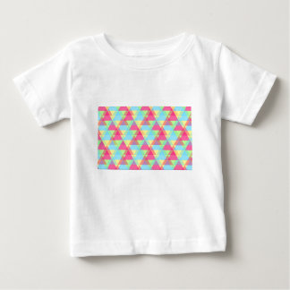 Pastel triangles baby T-Shirt