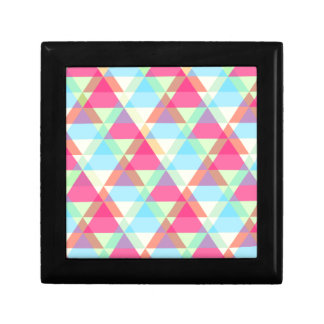 Pastel triangles gift box