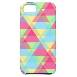 Pastel triangles tough iPhone 5 case