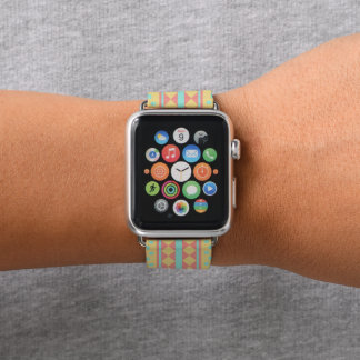 Pastel Tribal Pattern Apple Watch Band