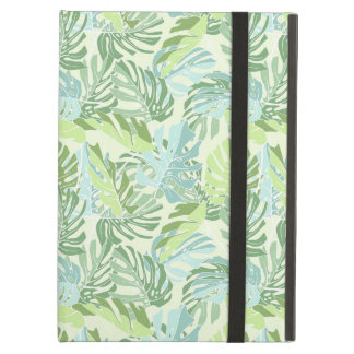 Pastel Tropical Palm Leaves iPad Air Case