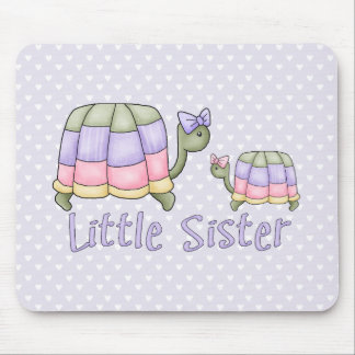 Pastel Turtles Little Sister Mouse Pad