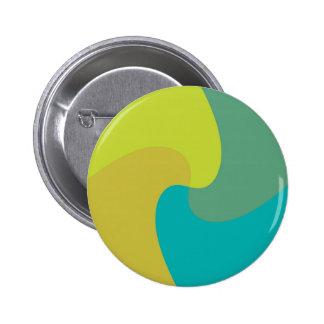 Pastel twist 6 cm round badge