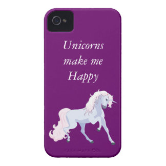 Pastel Unicorn Pink and Blue iPhone 4 Cases