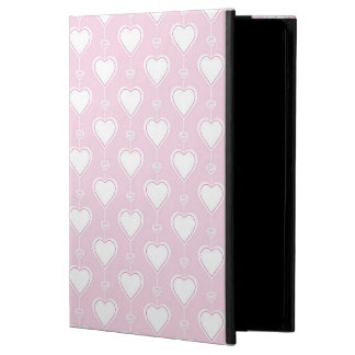 Pastel Valentine Hearts Cover For iPad Air