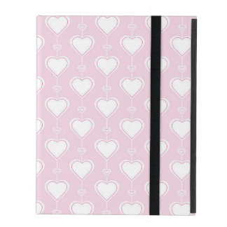 Pastel Valentine Hearts Covers For iPad