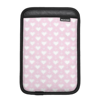 Pastel Valentine Hearts iPad Mini Sleeve