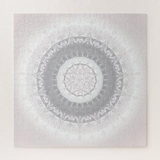 Pastel Vintage Floral Mandala Jigsaw Puzzle