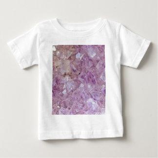 Pastel Violet Crystal Quartz Baby T-Shirt