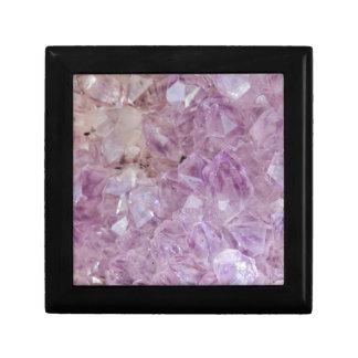 Pastel Violet Crystal Quartz Gift Box