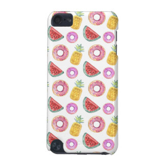 Pastel Watercolor Pool Float Pattern iPod Touch 5G Case
