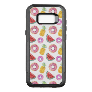 Pastel Watercolor Pool Float Pattern OtterBox Commuter Samsung Galaxy S8+ Case
