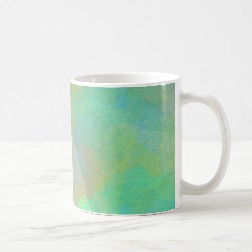 Pastel Watercolors Abstract Art Mug