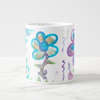 Pastel Watercolors Jumbo Mug