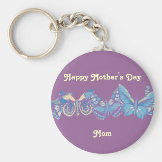 PastelButterflies Happy Mother s Day Mom Key Chains