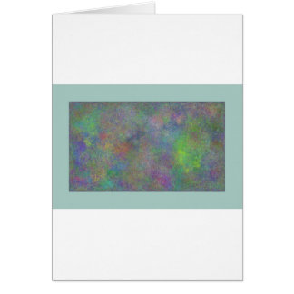 Pastell Greeting Card