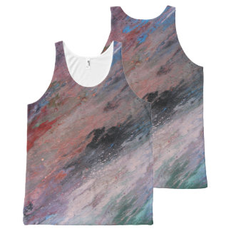 PASTELS All-Over PRINT SINGLET