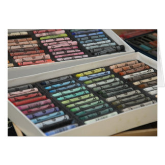 Pastels in all Colours Greeting Card