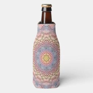 Pastels Vintage Kaleidoscope Bottle Cooler